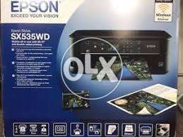 Epson Stylus Sx535Wd All-In-One Wifi and Double Side Printer box pack