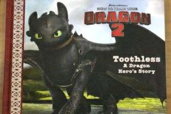 Buku How to train Your Dragon.