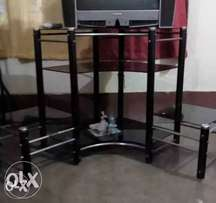 Tv Corner Stand. Black Me..., used for sale  Nagpur