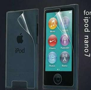 Screen Protector Clear For IPod Nano 7 Front And Back