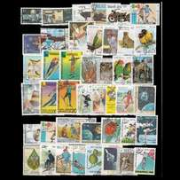 500 PCS World Wide Used and Unsed Postage Stamps For Collection