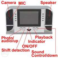 Night Vision Hidden 32GB Clock Camera + 3''LCD for play Back real time