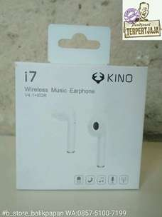 headset/earphone bluetooth i7 single