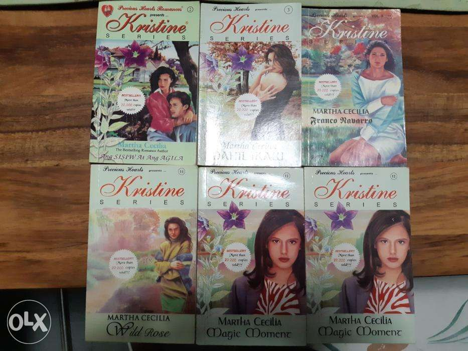 Preloved Books Kristine Series Martha Cecilia In Cabanatuan City