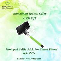 Handheld Camera Selfie Stick for IPhone & Andriod