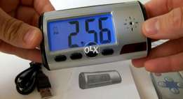 New Table Clock hidden Camera, now no worry about your lost. C.O.D