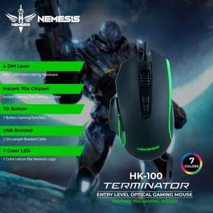 Nyk HK-100 Terminator Optical Gaming Mouse
