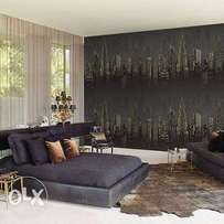 Decor your Luxury Homes with different designs of Wallpapers