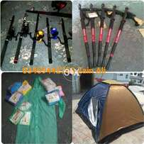 Tents,Hiking Sticks etc Ours Products Available For Outdoor Activities