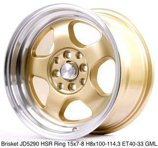 velg recing termurah r15 lobang4 buat Brio jazz Swift dll