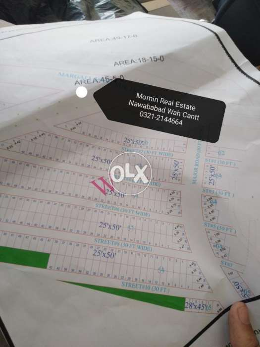 Old Booking Plot Files { New City Phase 2 wah cantt } Sale Cheap