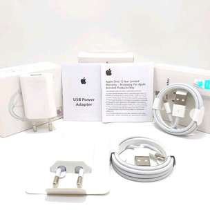 Charger Iphone Adaptor+Kabel Segel Resmi Ibox ORIGINAL 100%