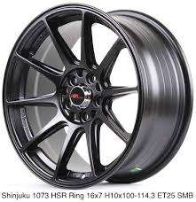 di jual velg racing ring 16 HSR belang double pcd