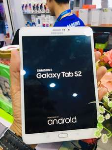 Waw 2nd Samsung Tab S2 32gb White Mulus Super Normal