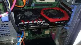 MSI Gaming X Gtx 1050 2GB Graphic card with warranty