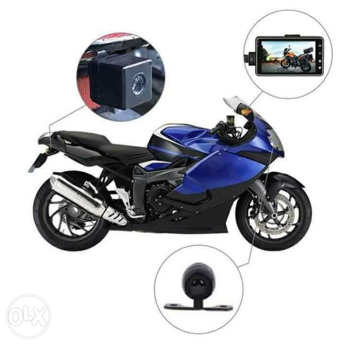 motorcycle dashcam with mount for nmax aerox r15 cbr rouser gixxer