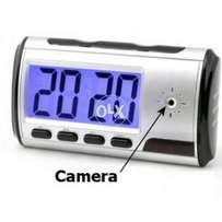 Spy table Clock Camera Motion Activated Hidden Security DVR