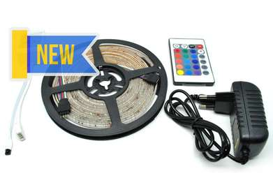 Lampu strip RGB 5 meter remote_CT51