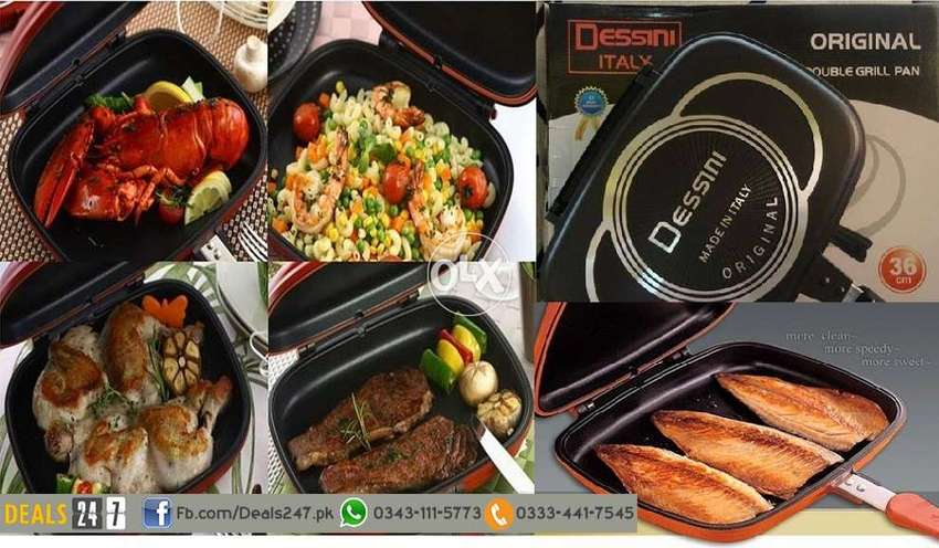 Nonstick Gas Double Sided Pressure Grill Frying Pan Best