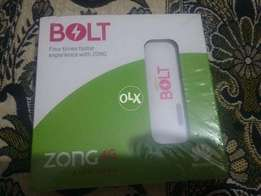 300GB Internet for 6 Month with Super Fast 4G Bolt zong wingle (apple)
