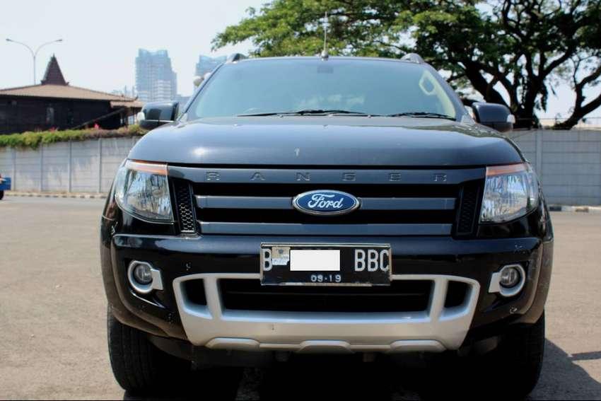 Ford Ranger Diesel >> Ford Ranger Wildtrak 4x4 At Diesel Hitam 2014 Mobil Bekas