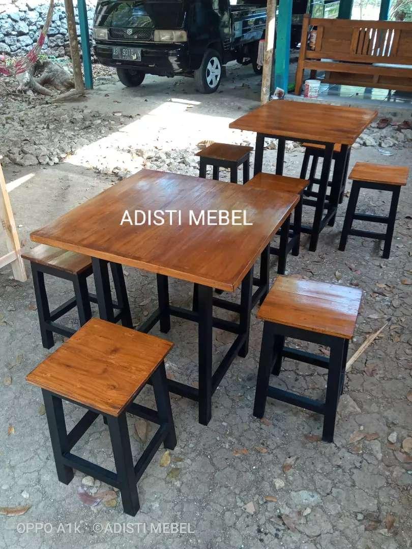 Termurah Set Meja Kursi Cafe Warung Dll Mebel 800705165