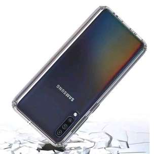 clear fuze case samsung A20