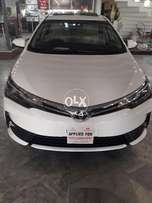 New Toyota corolla available for rent