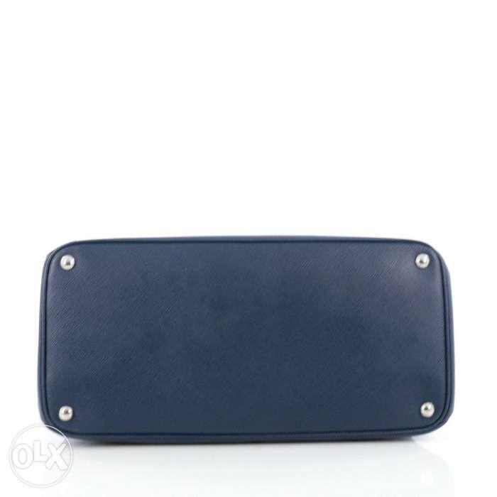 bf54e1a3c573 ... 100% Authentic Prada Turnlock Twin Tote Saffiano Leather ...