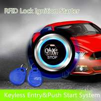 For Cars Lovers Push Start Stop Car Engine + RFID