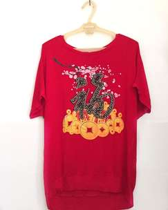 Red Top Sinchia Sablon Manik