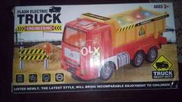 Flash Electric Engineering Super Dump Truck Toy