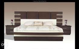 Matt wooden fantak varving bed(serial 002)