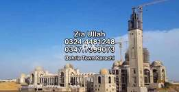 Prime Location Plot Ali Block - Build Your Home Bahria Town Karachi