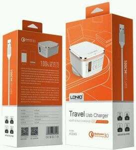 travel charger 2.4ampera 2usb new ic more fast