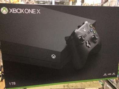 XBOX ONE X 1 TB New Original Sealed