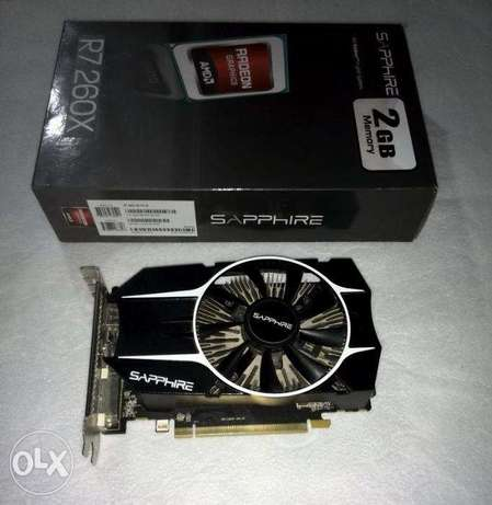 R7 260X 2gb ddr5 graphic card with box