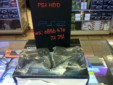 Console PS 2 Sudah Terisi 36 Game Hdd 160 GB