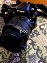 Nikon d5100 with kit lens 18-55mm and 55mm prime lens f/1.8D