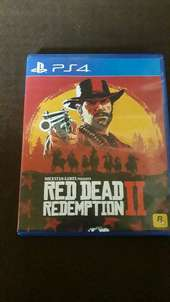 Jual Bd/Kaset Ps 4 Red Dead Redemption 2