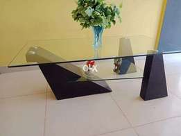 Designer double top coffee table in excellent condition