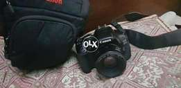 Canon 600D with canon 50mm lense
