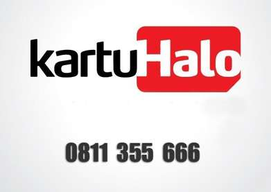 Kartu Halo 10 digit triple 6