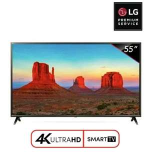 LG LED 4K UHD Smart TV 55 Inch 55UK6300 LG PREMIUM Garansi Resmi