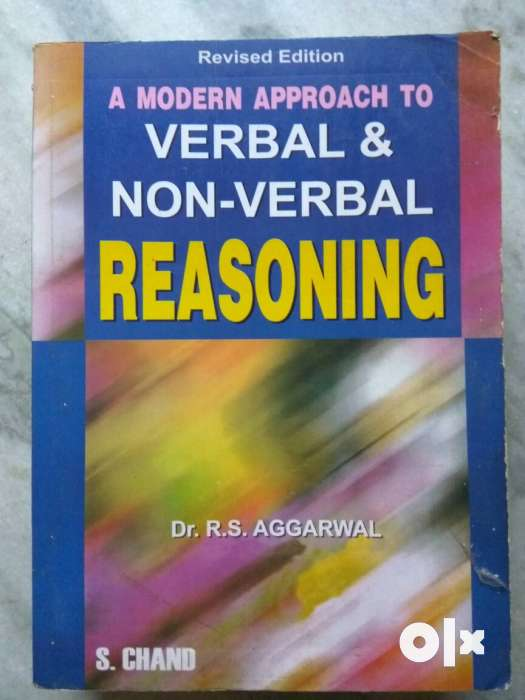 Rs Agarwal Verbal And Nonverbal Reasoning Book