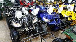 Series of brand new zero meter bmw quad atv bike deliver all pak