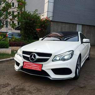 Mercy E200 CGI Coupe AT 2014 White On Red 7Rb Miles