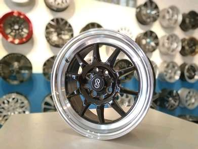 versi velg ukuran 15 racing model enkei double pcd 8x100/114.3