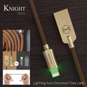 McDodo Knight Series Lightning Cable for Apple iPhone (AUTO DISCONNECT