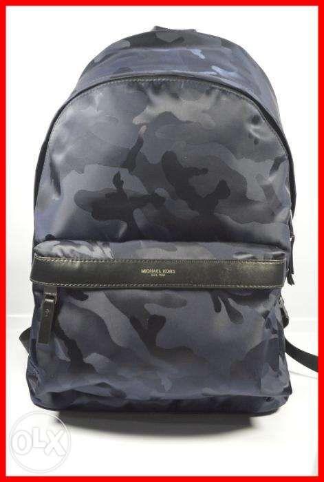 0b115b852dfa ORIGINAL Michael Kors Kent Indigo Nylon Camo Backpack Bag in Manila ...